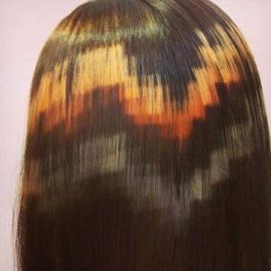 Jak wykonać piksele na włosach?